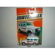 2011 Matchbox Land Rover Defender 110 White #100 of 100