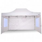ray bot Gazebo pieghevole 3x4,5 bianco professionale con finestre PVC 350g