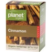 Organic Herbal Tea Bags - Cinnamon x25