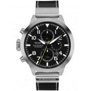 Ceas barbatesc Hemmer HF-01 Authentic Cronograf 50mm 10ATM