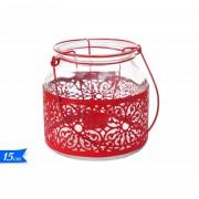 Lanterna vetro 15cm 706375 617