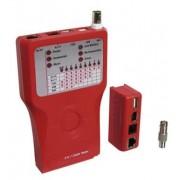 goobay CAT, USB, IEEE1394, BNC a Síťový tester pro RJ 11/12/45