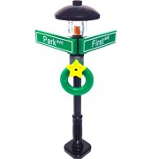 MinifigurePacks: Lego City/Town STREET SIGN - LAMP POST Intersection of First & Park