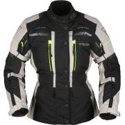 Modeka Winslow Damer Motorcykel Textil jacka 46 Svart Grå