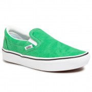 Гуменки VANS - Comfycush Slip-On VN0A3WMDWYC1 (Washed Canvas)Fern Green