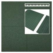 Intergard Dalle caoutchouc vert 500x500x45mm (m2)