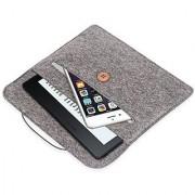 Kindle Oasis Sleeve Case Pasonomi Premium Felt Sleeve Case - Portable Carrying Protective Case Cover Pouch for Amazon Kindle Oasis Kindle Paperwhite Kindle Voyage (Gray)