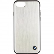 Husa Capac Spate Aluminium Argintiu Apple iPhone 7, iPhone 8, iPhone SE 2020 BMW