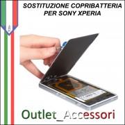 Cambio Sostituzione Copribatteria Back Cover Vetro Rotto Sony Xperia Z3 D6603 Assemblaggio