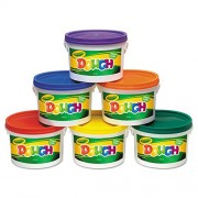 * Modeling Dough Bucket, 3 lbs., Assorted, 6 Buckets/Set