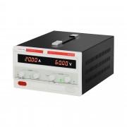 Fonte de alimentação de laboratório - 0-60 V - 0-20 A DC