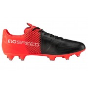 Puma Evo Speed 3.5 Lth FG - scarpe da calcio terreni compatti - Red/Black