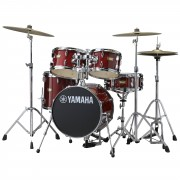Yamaha Manu Katché Junior Kit JK6F5, incl. HW, Cranberry Red