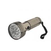 LED-es elemlámpa fém