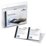 DURABLE · Hunke und Jochheim GmbH & Co. KG DURABLE Smart Tab Clean Feuchttücher, Displaytücher für die schonende Reinigung empfindlicher Bildschirme, 1 Packung = 10 Stück