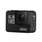 """Екшън камера GoPro HERO7 Black, камера за екстремен спорт, 4K@60fps, 2"""" (5.08 cm) мулти-тъч сензорен дисплей, microSD слот, USB (Type-С), Wi-Fi, Bluetooth, GPS"""