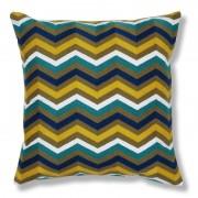 La Forma Sierkussen Odette multicolor zigzag design 100% katoen (45 x 45 cm)