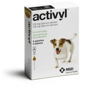 Activyl Spot-on 150mg For Small Dogs 6.6-10 kg (15-22 lbs)