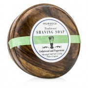 Cedarwood & Peppermint Saving Soap Presented In A Wooden Bowl 65g/2.3oz Cedarwood & Peppermint Сапун за Бръснене в Дървена Купа