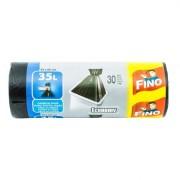 Saci de menaj HD 35l Fino 30 buc 49x60 cm