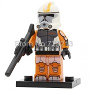 Generic Clone Trooper Figure POGO8078 Stormtrooper Legoingly Building Block Model Bricks Toys PG751