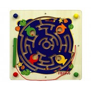 Magnetic Fishing - Wooden Toys - Brainsmith - Early Learning - Hand eye coordination - Fine Motor Skill - Concentration buidling - Counting Skills - Brain Development - Birthday gift - Return Favour - Play and Learn - Child safe toys - 3 years and above
