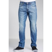 Mens Southcape Classic Straight Jeans - Blue Wash Trousers
