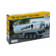 "Italeri 3911 - 1:24 CLASSIC TANK TRAILER ""We are family"""