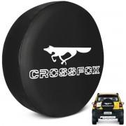 Capa De Estepe Crossfox 2005 a 2019 PVC Raposa Com Cadeado