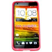Силиконов гръб ТПУ за HTC Butterfly X920D Червен