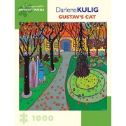 Darlene Kulig Gustavs Cat 1000-Piece Jigsaw Puzzle