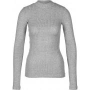 Review Turtle Shirt Damen Sweater grau meliert