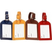 Sukeshcraft W currency Luggage Tag(Multicolor)