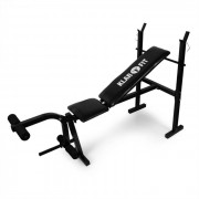 KLARFIT FIT-HB4 тренировъчна пейка с приспособление за упражнения за крака 160кг (FIT-HB4DR)