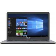 ASUS VivoBook X705UA-BX375T 2.4GHz i3-7100U 17.3'' 1600 x 900Pixels Grijs Notebook