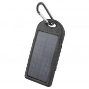 Forever STB-200 Solar Power Bank - 5000mAh - Black