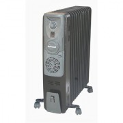 SUNFLAME 13 FIN OIL FILLED RADIATOR HEATER WITH FAN ( BLACK )