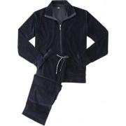 Jockey Стильный мужской комплект одежды для дома из хлопка синего цвета Jockey Комплект/ 50301 (Фуфайка+Брюки) (муж.) Синий