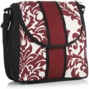 Home Heart Black, White, Red Sling Bag