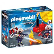 Playmobil City Action, Pompieri cu pompa de apa