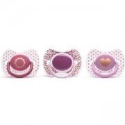 Физиологична силиконова залъгалка Premium - за момиче, Suavinex, налични 3 модела, 254004