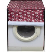 Glassiano Washing Machine Cover for Fully Automatic Front Load IFB Serena Aqua SX LDT 6 Kg Multicolor