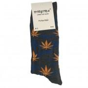 Ponožky bavlněné motiv konopí ŠMO vel. 43-46