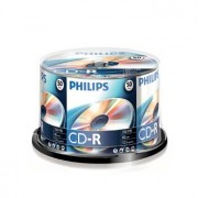 Philips CD-R Philips 700Mb 52x 80min Spindle Pack 50