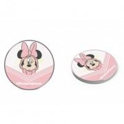 Disney vezeték nélküli töltő - Minnie 003 micro USB adatkábel 1m 9V/1.1A 5V/1A (DCHWMIN004)