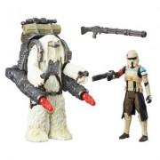 Figurine Star Wars : Pack 2 Figurines Et Accessoires : Scarif Stormtrooper Et Moroff