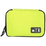 Jern Electronic Organizer Gadget Travel Bag USB Earphone Case Digital Organization Waterproof Multifunction Cable Storage Bag (Green)(Green)