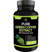 Perennial Lifesciences 100% Pure & Natural Green Coffee Extract (Chlorogenic acid) GCA 60 VEG Capsules