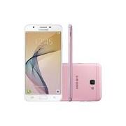 Smartphone Samsung Galaxy J5 Prime Dual Chip Android 6.0 Tela 5 Quad-Core 1.4 GHz 32GB 4G Wi-Fi Câmera 13MP com Leitor de Digital - Rosa