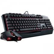 Геймърски комплект клавиатура с мишка Cooler Master Devastator II Red, CM-KEY-DEVASTATOR2-RD